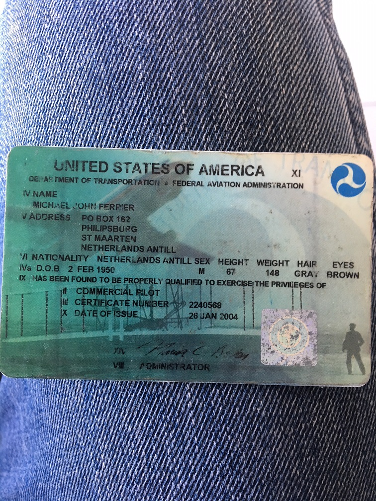 commer pilots license