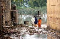 Coping with severe floods in Pakistan. UN Photo/WFP/Amjad Jamal