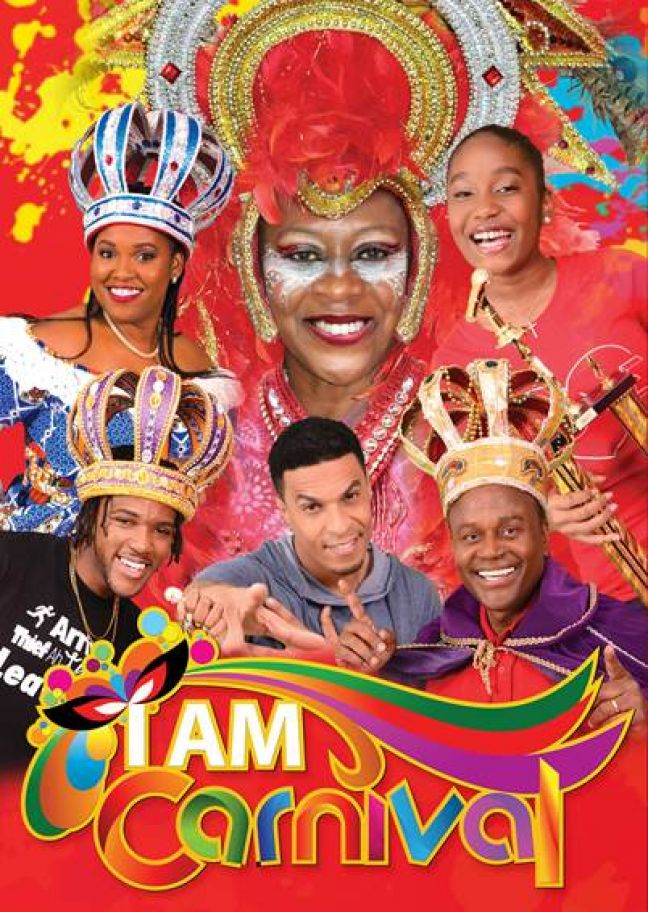 "TelCell says these are the faces that will be gracing the company's ""I Am Carnival"" posters throughout the 2017 Carnival season."
