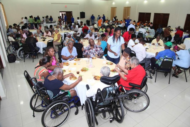 Rotary Club of Sint Maarten Hosts Seniors at Belair Community Center