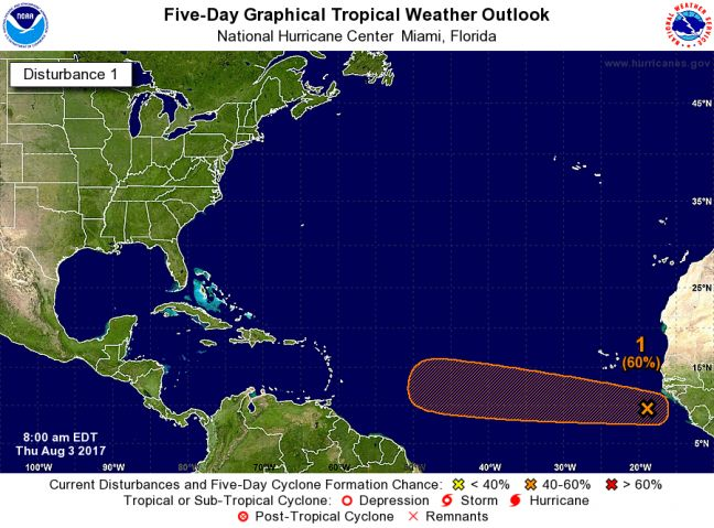 WEATHER WATCH: Possible New Threat for the Caribbean as Tropical System Could Become Tropical Storm Franklin