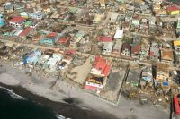 An aerial shot of hurricane-battered Dominica. Photo: WFP/Norha Restrepo