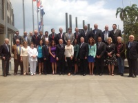 Parlatino Executive Committee meeting recently held in Panama (file photo)