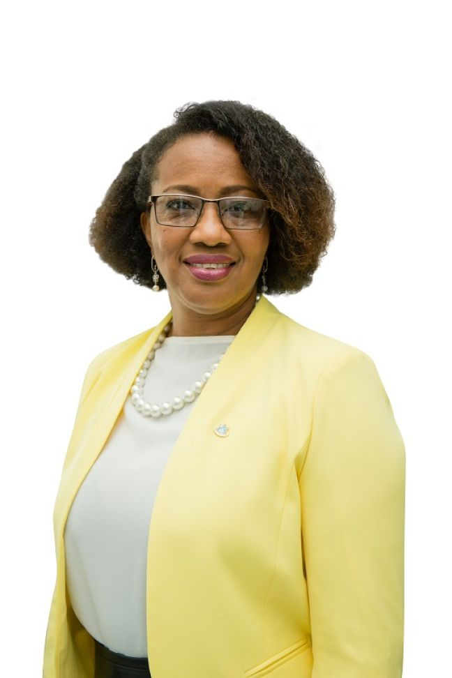 Minister Silveria Jacobs.