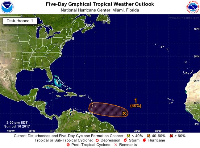 WEATHER WATCH: New System East of the Islands being Monitored