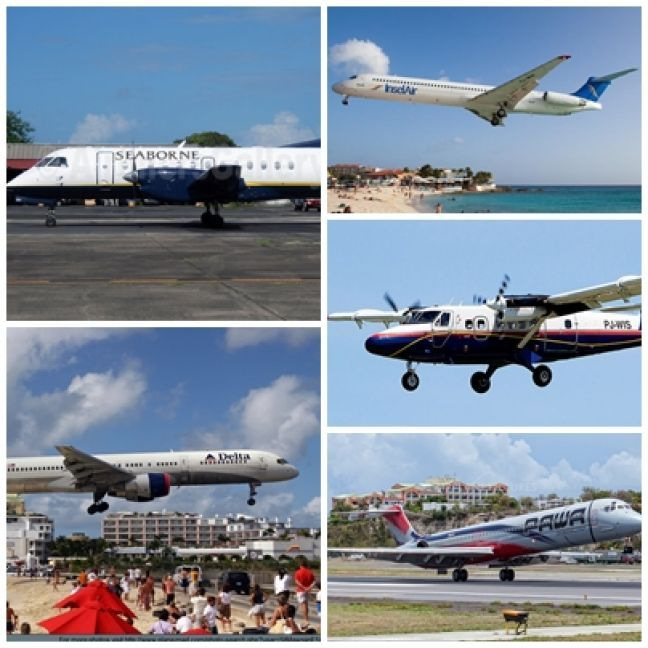 SXM Airpot open to commercial flights since October 10, 2017.