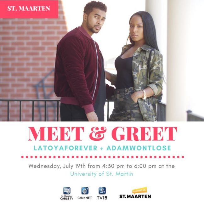 Cable TV and Tourist Bureau Organize Meet & Greet with Latoya Forever and Adam Ali