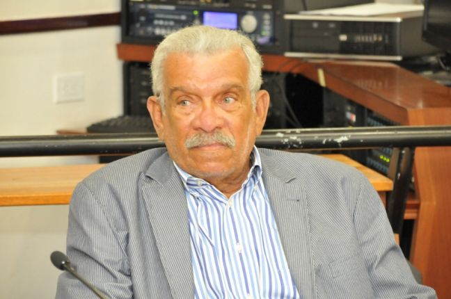 The late Nobel Laureate Derek Walcott.