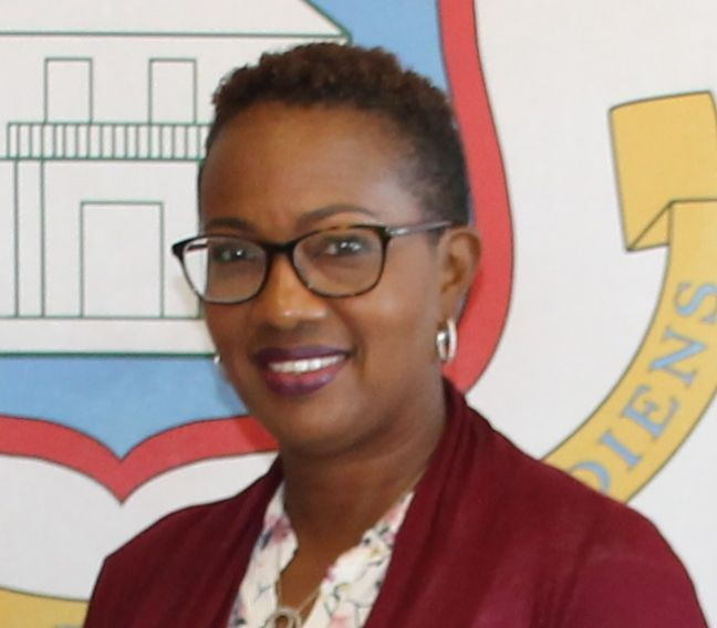 Minister of Education Silveria Jacobs