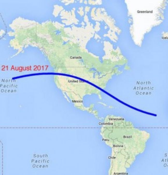 Solar Eclipse to take place on August 21