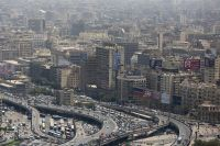 View of City of old Cairo, Egypt, during mid-morning rush hour. Photo: World Bank/Dominic Chavez