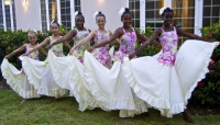 NIA dancers at the Chamber Gala Event.