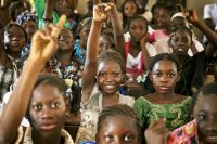 Students attend class at a public school in Taliko, a neighbourhood of Bamako, Mali. UN Photo/Marco Dormino