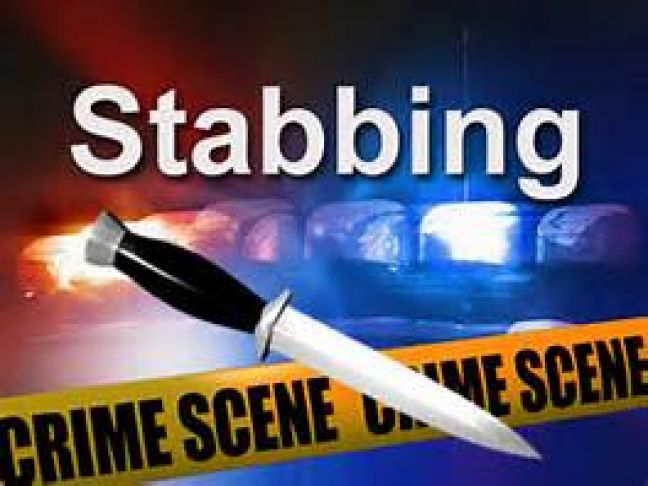 Brother stabs the other one. One man in police custody