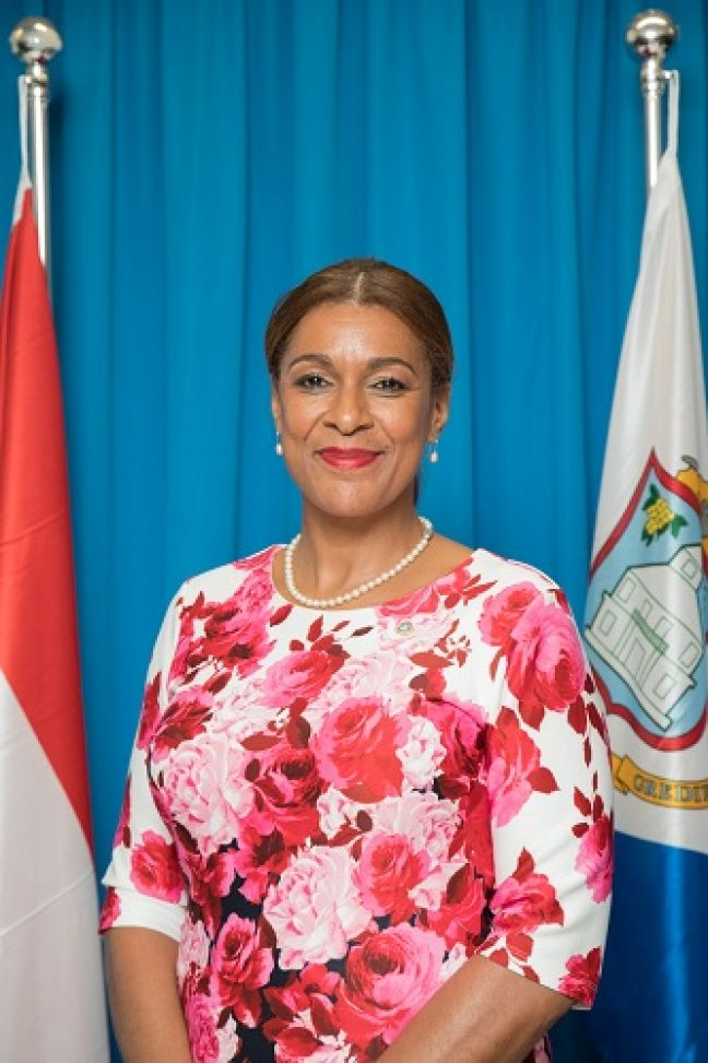 Minister of Education Jorien Wuite