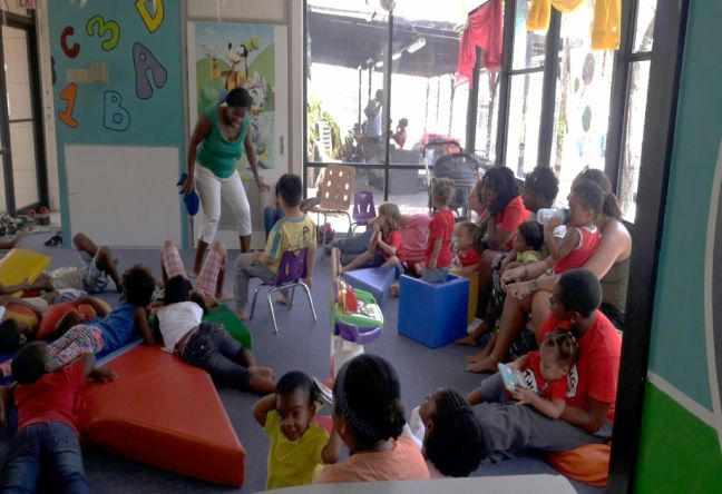 File photo of a story time activity at the Philipsburg Jubilee Library in 2016.