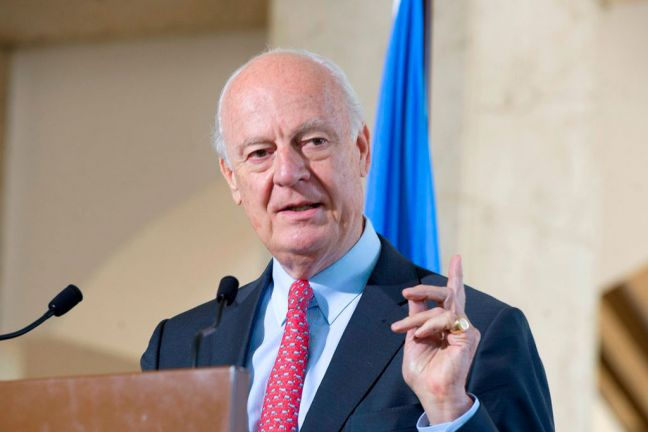 Staffan de Mistura, the United Nations Special Envoy for Syria. UN Photo