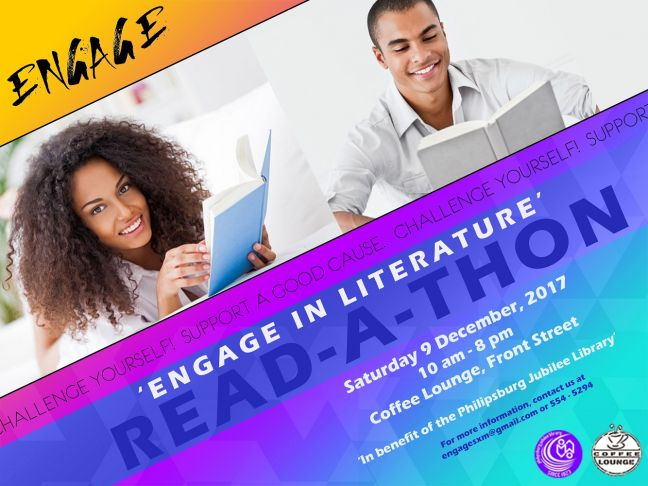 Engage in Literature Read-a-thon to benefit Philipsburg Jubilee Library