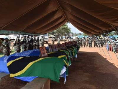 UN honours 14 peacekeepers killed in eastern DR Congo