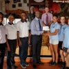 Seven Seas Water donates to Digi-Artz project of Milton Peters College and Sint Maarten Academy