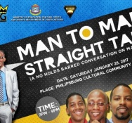"""""""Man to Man- Straight Talk"""" Panel Discussion slated for January 28"""