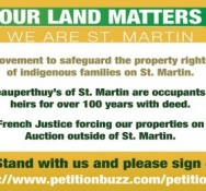 Our Land Matters: A Brief History of the Beauperthuy Succession Land Issues