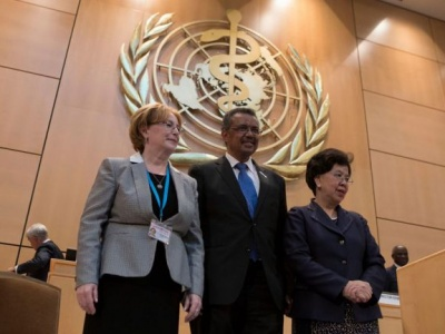 Ethiopia's Tedros Adhanom elected to top UN health post