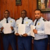 Minister of Justice Hands out 22 National Resolutions to Police Officers