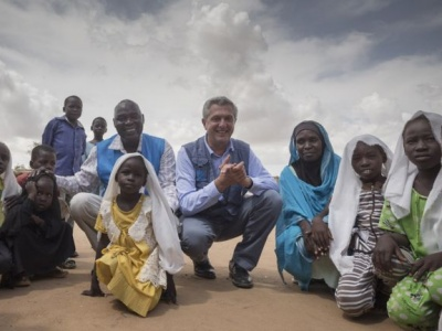 In East Darfur, UN refugee chief urges international support for Sudan