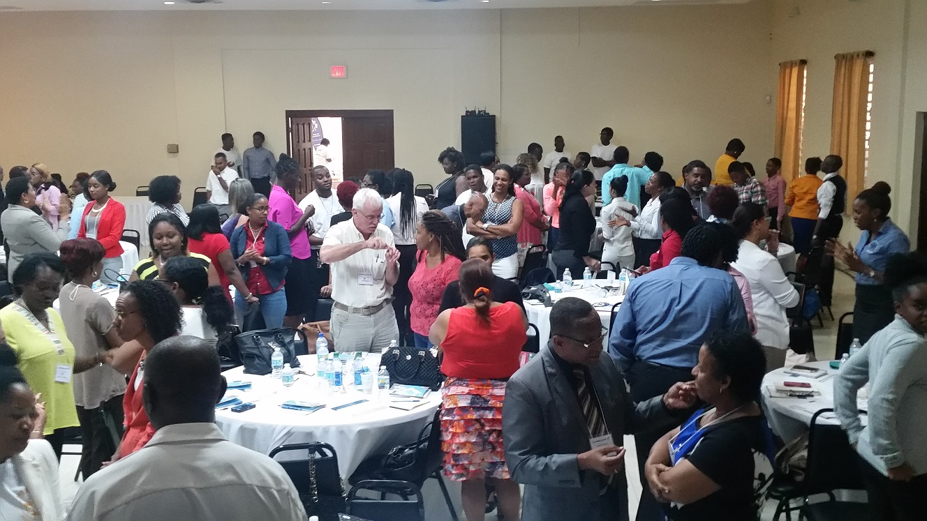 LeadercastVictoriousLivingSXM attendees engaged in Visioning 2020 2 iside1