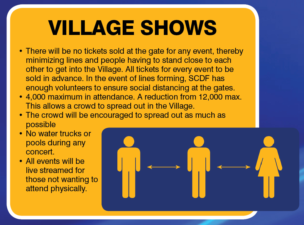 SCDF Village Shows