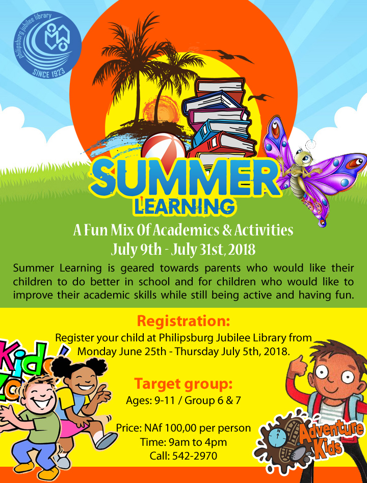 Summer Learning flyer 4