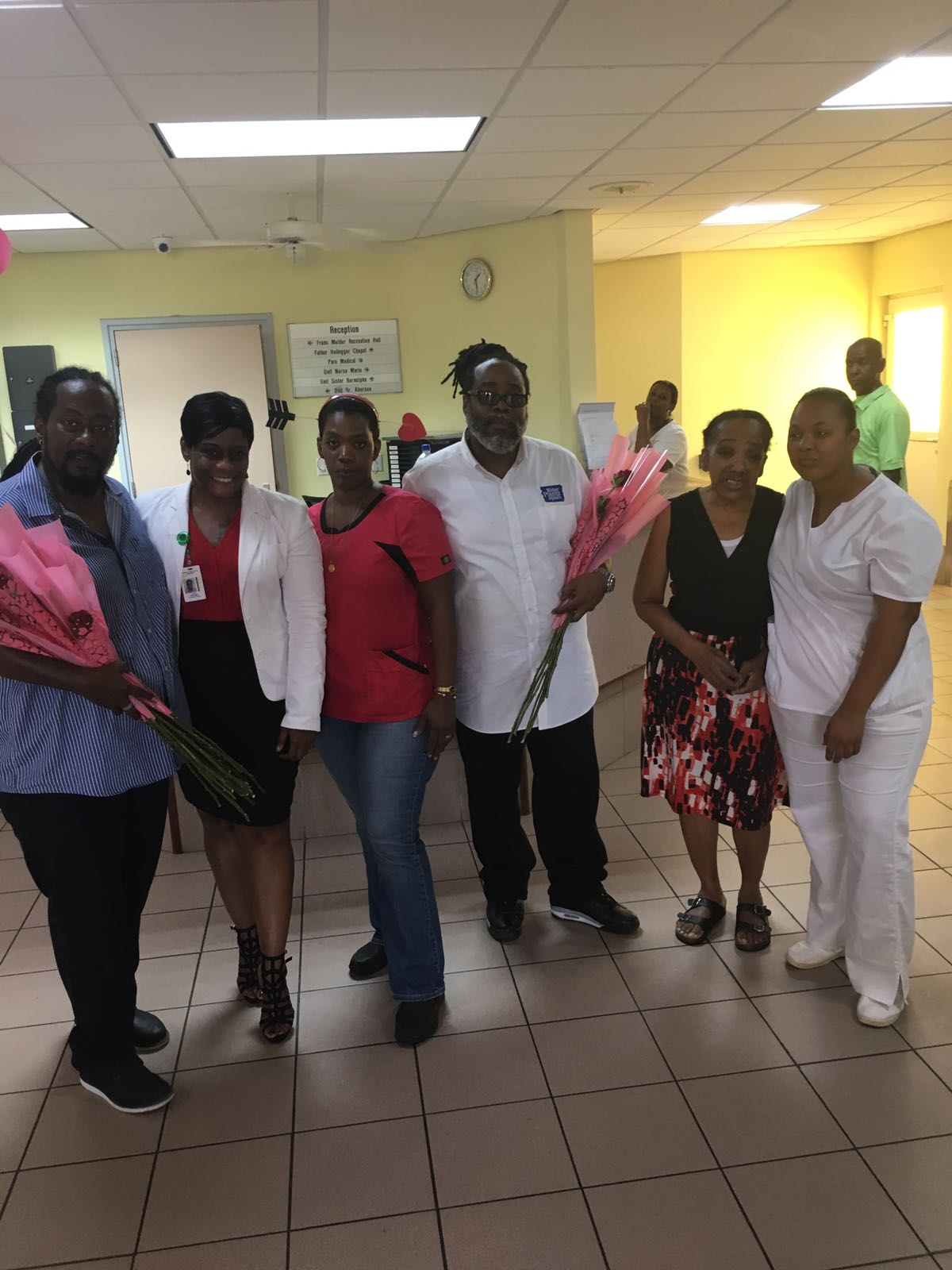 WPS staff at the Senior Citizens Home