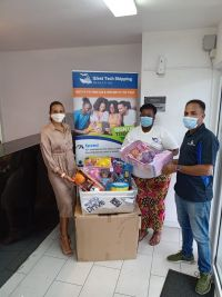 Donations from Sint Maarten. (photo contributed)