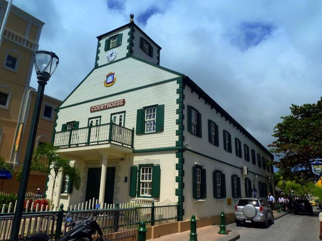 Court House, Philipsburg, Sint Maarten