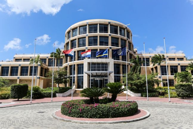CBCS headquarters, Willemstad, Curacao