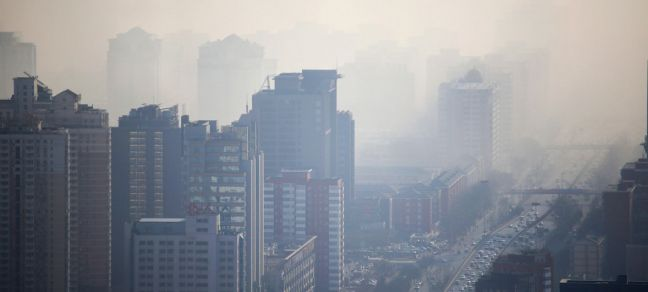 WMO/Alfred Lee In cities like Beijing in China, smog has become a major health issue.