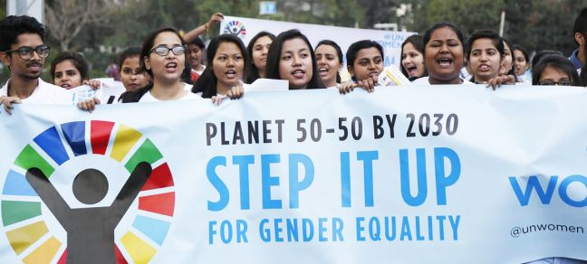 UN Women India While women have come a long way since the adoption of the Beijing Platform for Action nearly 25 years ago, they still lag behind on virtually every Sustainable Development Goal (SDG).