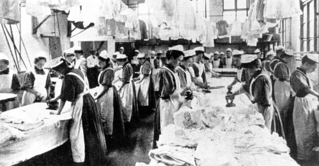 A Magdalene laundry in England. Photo: Wikimedia Commons