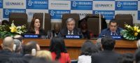 UN Photo/Eskinder Debebe The 8th Global Forum of the United Nations Alliance of Civilizations gets underway at UN Headquarters in New York on 19 November 2018.