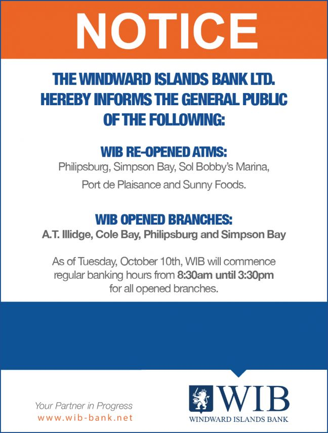 UPDATE: WIBs Port de Plaisance ATM Now Available