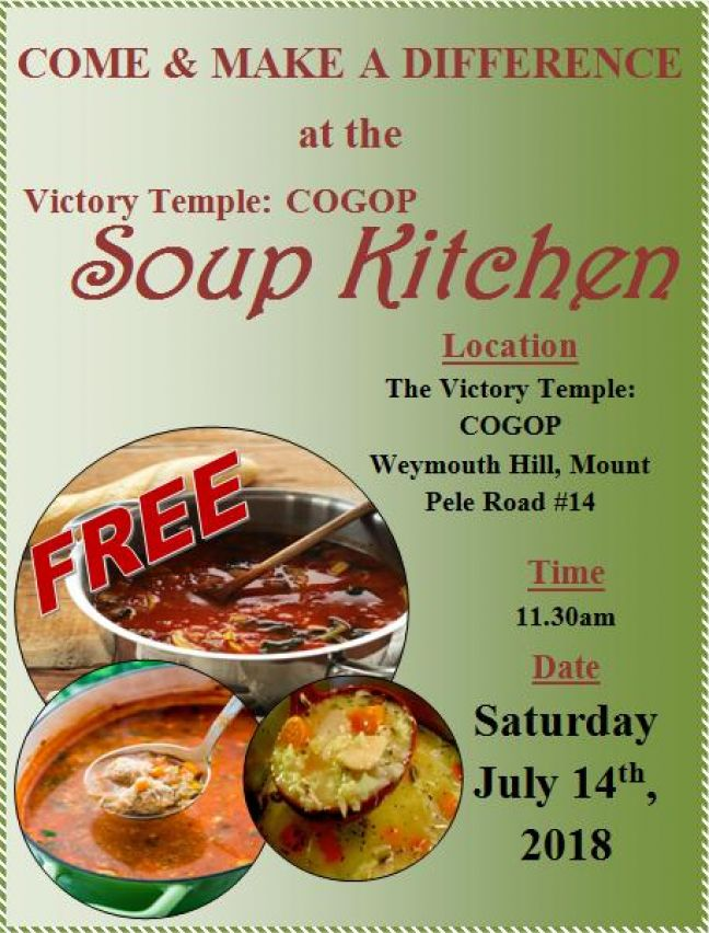 Soup Kitchen on July 14