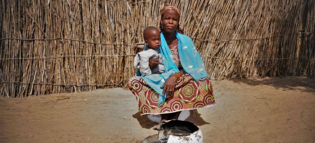IOM/Monica Chiriac Amarcia, is one of the 1.5 million people who have been displaced in Niger by conflict in the central Sahel region.
