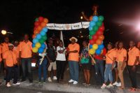 Carnival kick-off parade started in South Reward on Thursday evening. (FB Photo)
