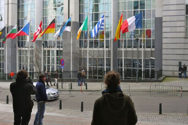 European Union headquarters in Brussels, Belgium. Photo: Carmen Cuesta Roca