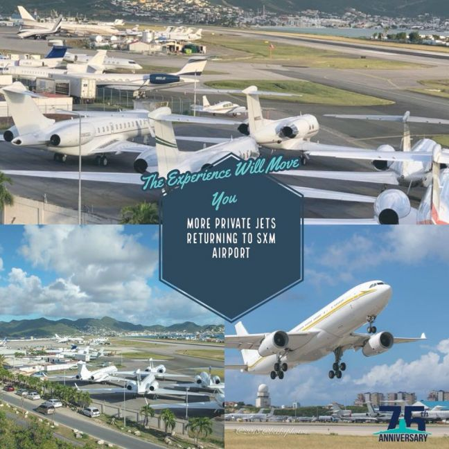 Photo by Ambient Digital Services. (SXM Airport FB)