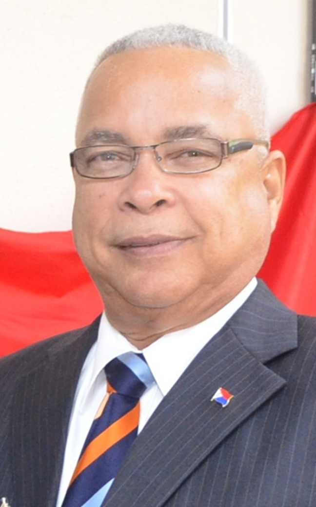 Acting Minister of VROMI Marcel Gumbs