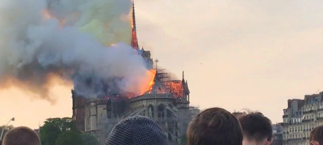 Katie Dallinger Notre Dame cathedral in Paris was under renovation when it caught fire on 15 April 2019.
