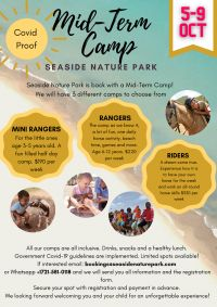 Seaside Nature Park: Support and join us in the seemingly safest place to be these days: OUTDOORS