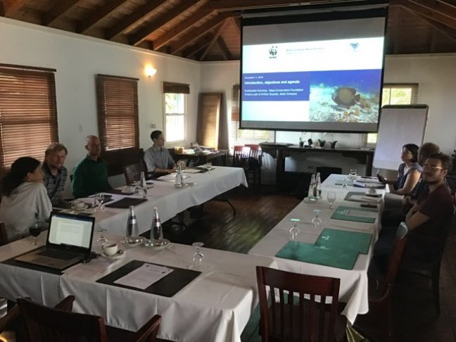 Sustainable Finance workshops started this week on Saba and will also be organized the coming days on Statia and St Maarten. Photo credit: O. Kramer (DCNA)- (copyrights reserved)